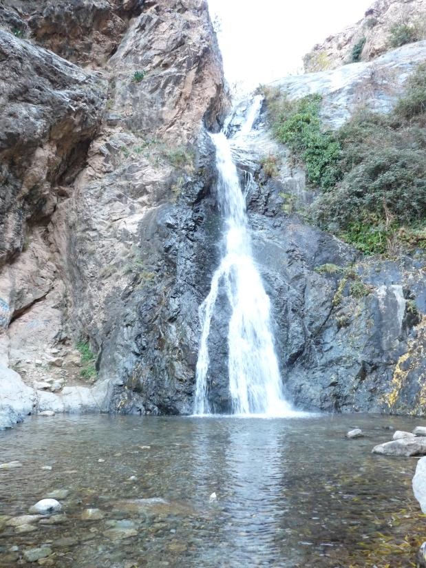 Segunda cascada en Ourika